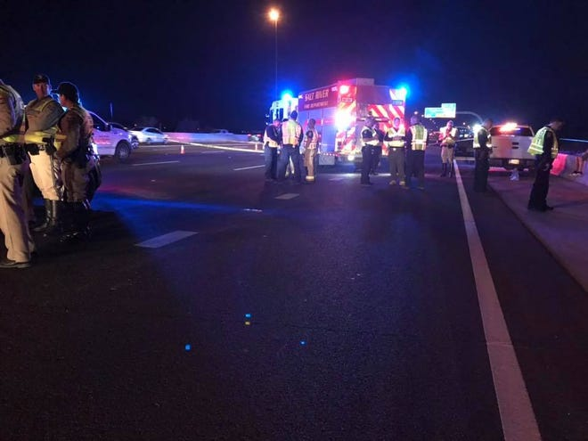 A Salt River police officer was killed by man texting and driving along Loop 101 near Scottsdale on Jan. 8, 2019.