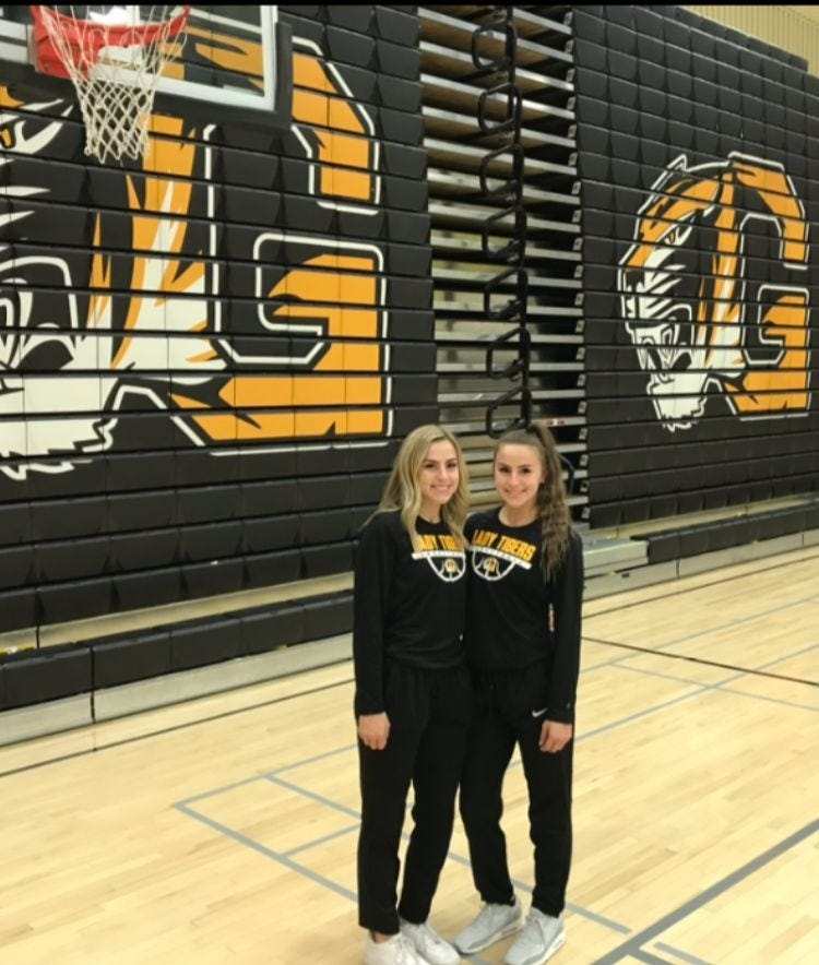 Gilbert twins Haley and Hanna Cavinder peak as the best tandem in 5A girls basketball