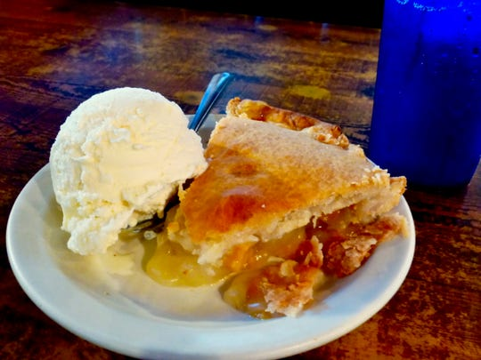 Homemade pie from Bear Wallow Cafe is a treat for any Alpine visitor.