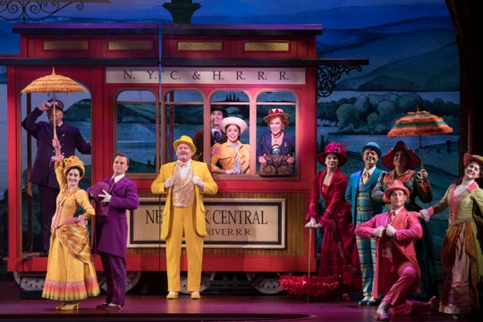 "The national tour of ""Hello, Dolly!"" is based on the 2017 Broadway revival."