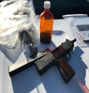 The operation led to the seizure of 27 firearms and pounds of illegal drugs, the agency said.