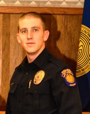 Salt River police Officer Clayton Townsend