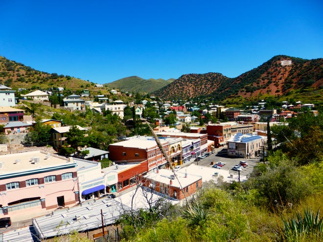 Bisbee nestles in the Mule Mountains, a quirky town filled with history, art and personality.