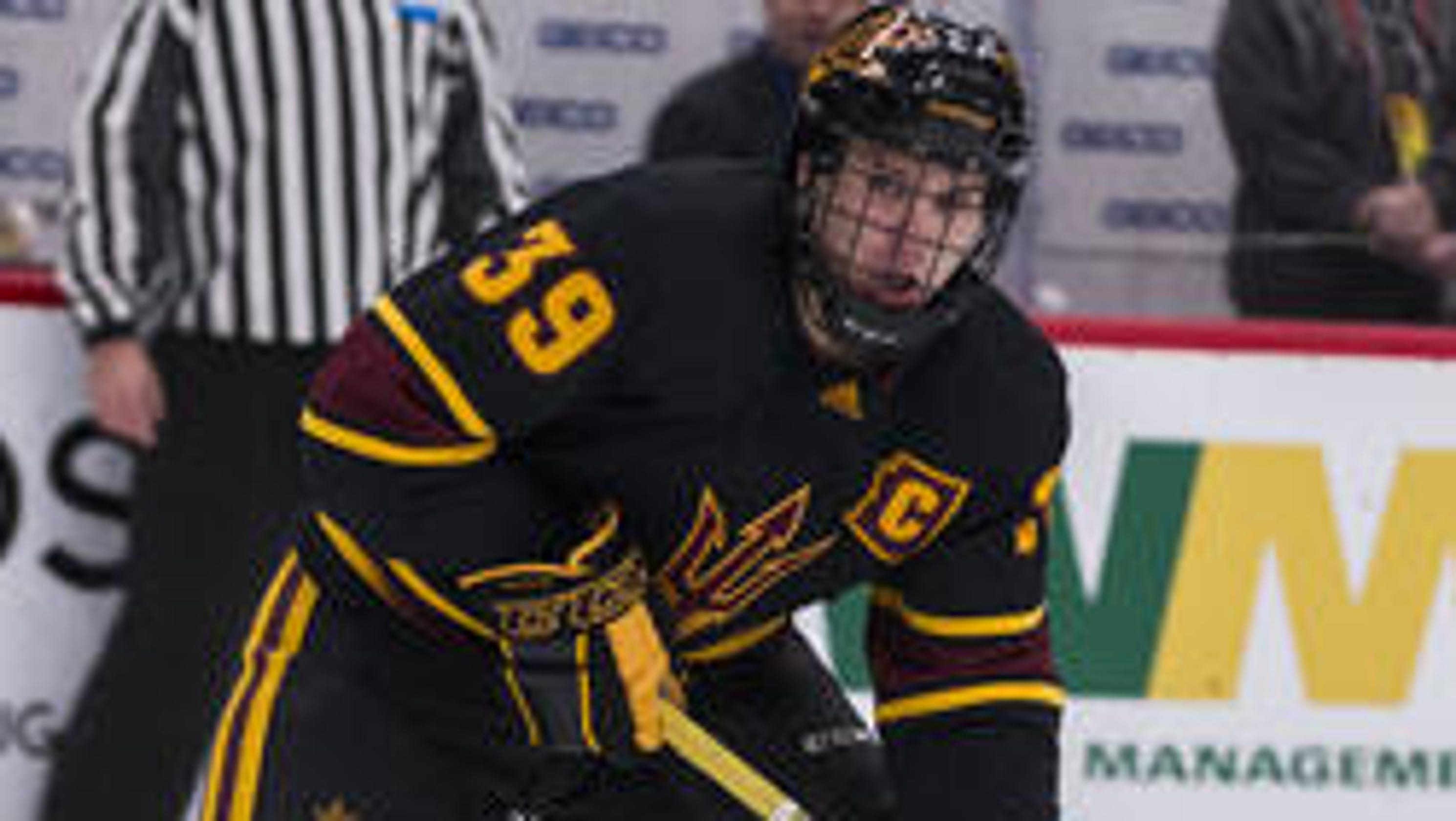 1181cb42af8 Five college hockey players the Coyotes could be interested in signing