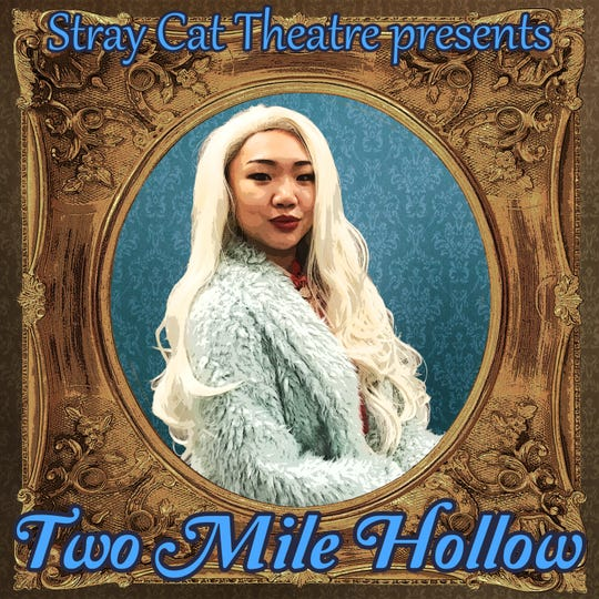 "Promotional images for Stray Cat Theatre's ""Two Mile Hollow"" shows its all-nonwhite cast dressed up to play ""white people by the water."""