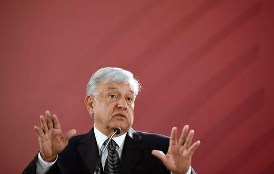 Mexico Politics Lopez Obrador