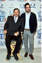 Jorge Ortiz de Pinedo junto a su hijo Pedro.