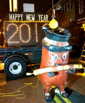 The Bologna Ranger is officially one of the weirdest New Year's Eve drops in the U.S., according to Smithsonian.com.