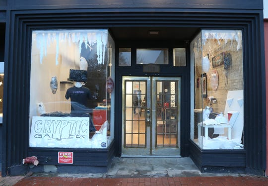 Cryptic Gallery in the City of Poughkeepsie on January 8, 2019.