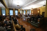 The Dutchess County Judicial Diversion Program Graduation ceremony in the City of Poughkeepsie.