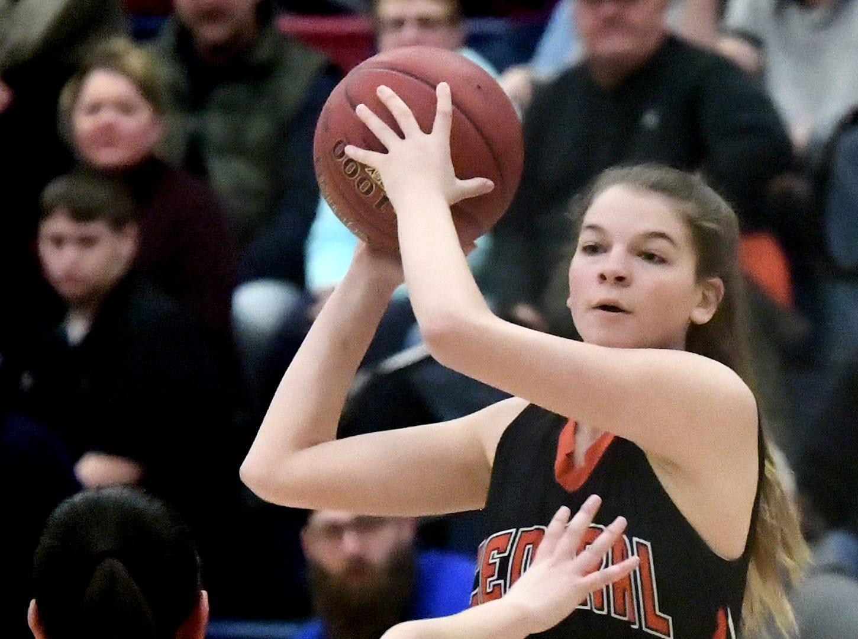 Central York visits Spring Grove for girls' basketball Tuesday, Jan. 8, 2019. Bill Kalina photo