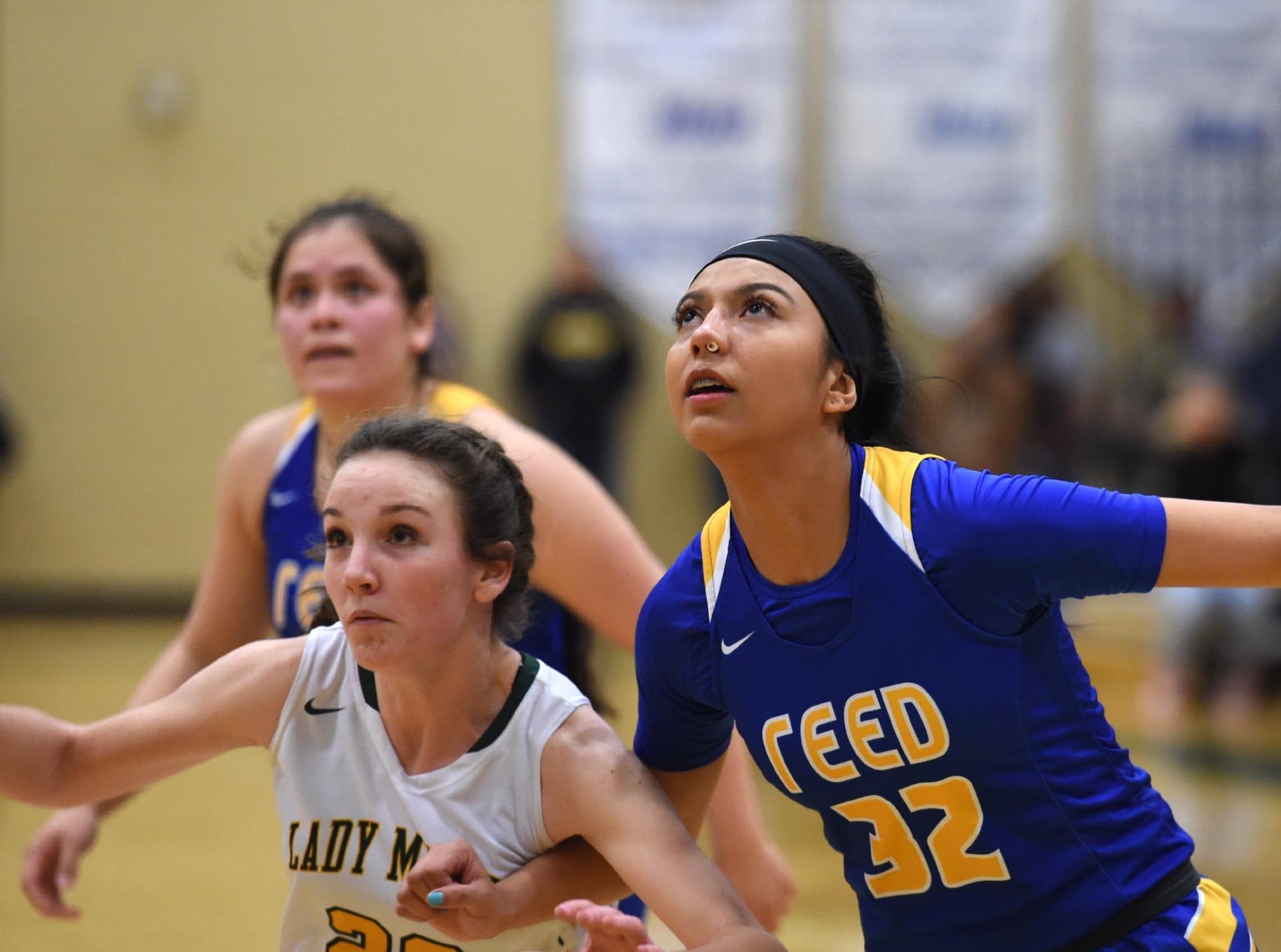 Acton photos of the Reed at Bishop Manogue girls basketball game on Tuesday Jan. 8, 2019.