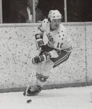 Steve Langdon played five seasons for Amerks during their 1970s affiliation with Boston Bruins.