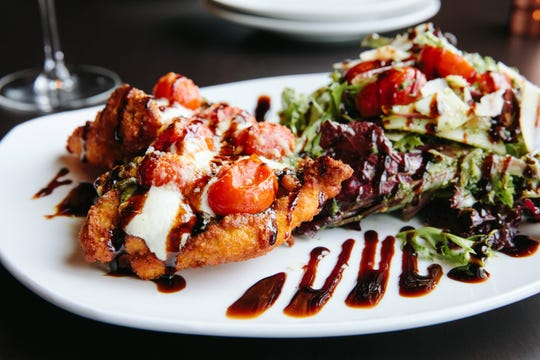 Caprese chicken is a perennial favorite at 110 Grill.