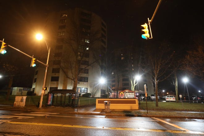 A 26-year-old Rochester resident was found fatally shot on East Main Street outside Cedarwood Towers Tuesday night.