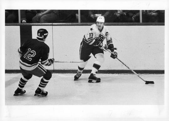 Steve Langdon played 313 games for the Amerks from 1974-75 to 1978-79, scoring 97-87 - 184. He'll be enshrined in Amerks Hall of Fame on Feb. 8.