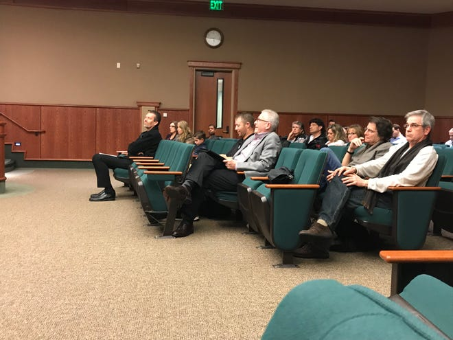 Parents and staff from the Redding Adventist Academy K-8 school expressed concern to the Planning Commission during a Jan. 9, 2019 public hearing about Hill Country's proposed health-residential complex next door.