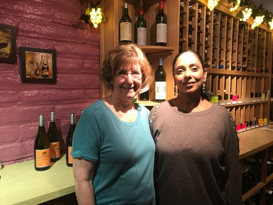 Former Corbett's owner Mel Corbett, left, stands inside the restaurant with Sue Singh, who purchased the business with her husband, Ram, last fall.