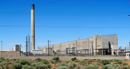 This May 13, 2017 file photo shows a portion of the Plutonium Finishing Plant on the Hanford Nuclear Reservation near Richland, Wash.