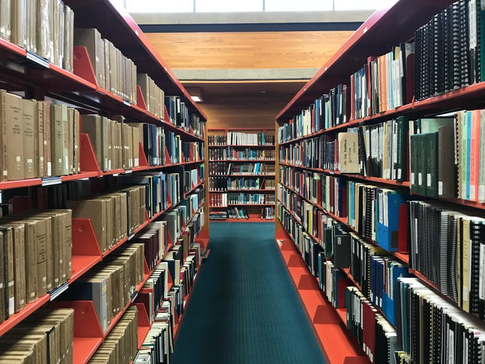 The Willamette Valley Genealogical Society has more than 5,000 books, periodicals and other family research materials in its collection, most of which is available at Salem Public Library.
