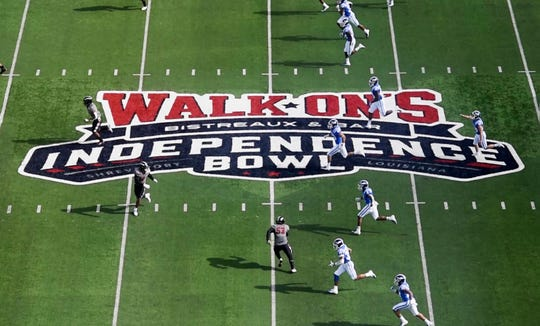 The first half of the 2018 Walk-On's Independence Bowl, December 27, 2018, at  Independence Stadium in Shreveport, LA.
