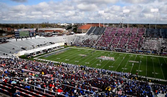 The 2018 Walk-On's Independence Bowl, December 27, 2018, at  Independence Stadium in Shreveport, LA.