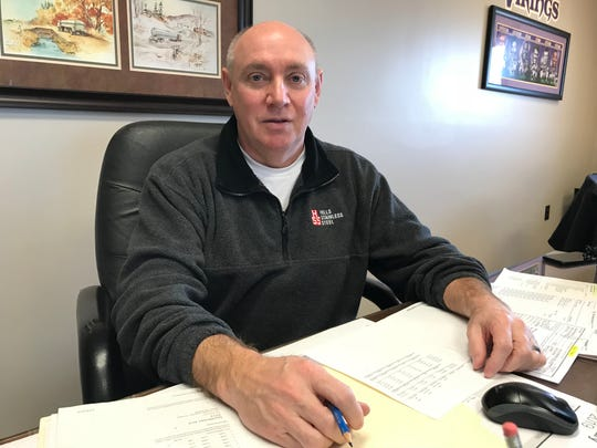 Brad Vaughn, general manager of Hill Stainless Steel, located in Luverne near where Tru Shrimp planned to build. The company and the town were looking forward to Tru Shrimp's arrival, Vaughn said.