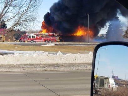 Elmwood Golf Course fire