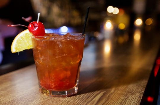 The Buck-A-Neer's Old-Fashioned.