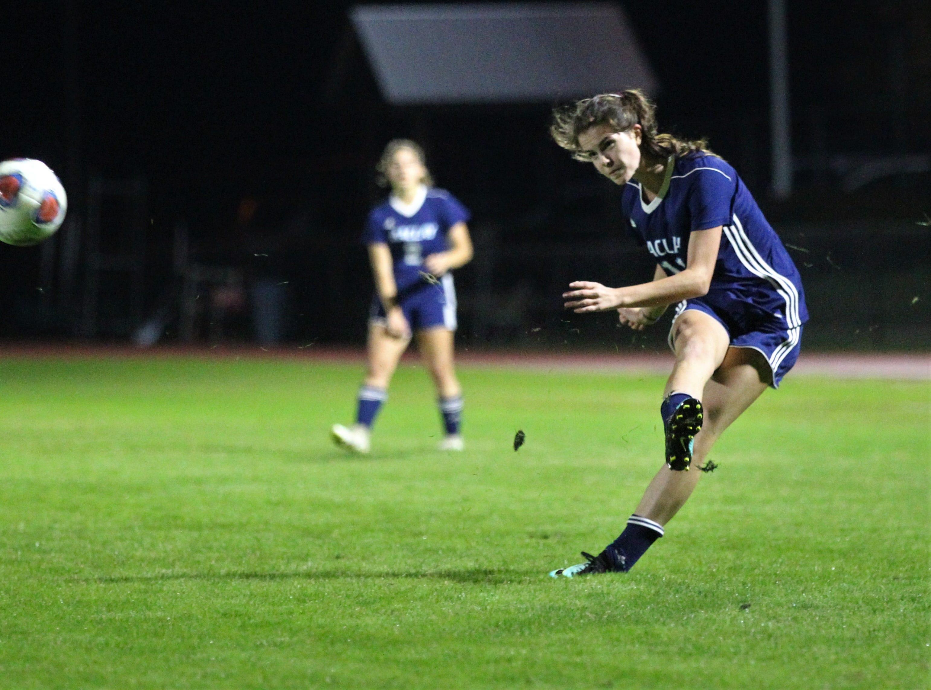 Maclay won 3-0 at home against Florida High on Jan. 8, 2019.