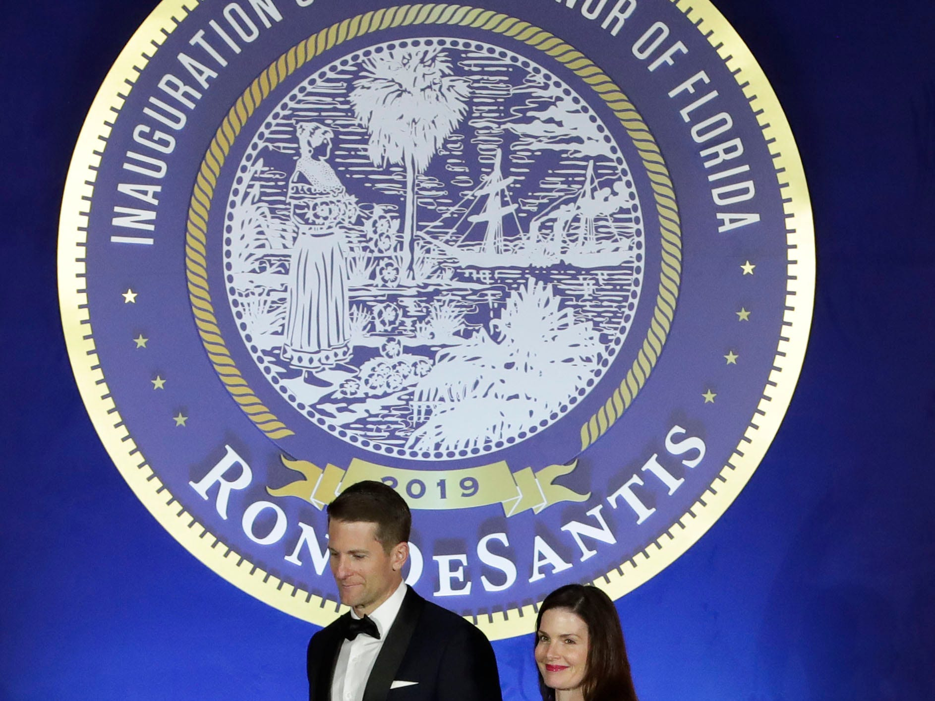 Hundreds of guests from all over Florida attend Florida's 46th Governor's Inaugural Ball at the Tucker Civic Center, Tuesday, Jan. 8, 2019.