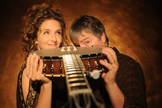 Uber-banjo duo Bela Fleck and Abigail Washburn will be in concert Feb. 4 at the Gillioz Theatre.