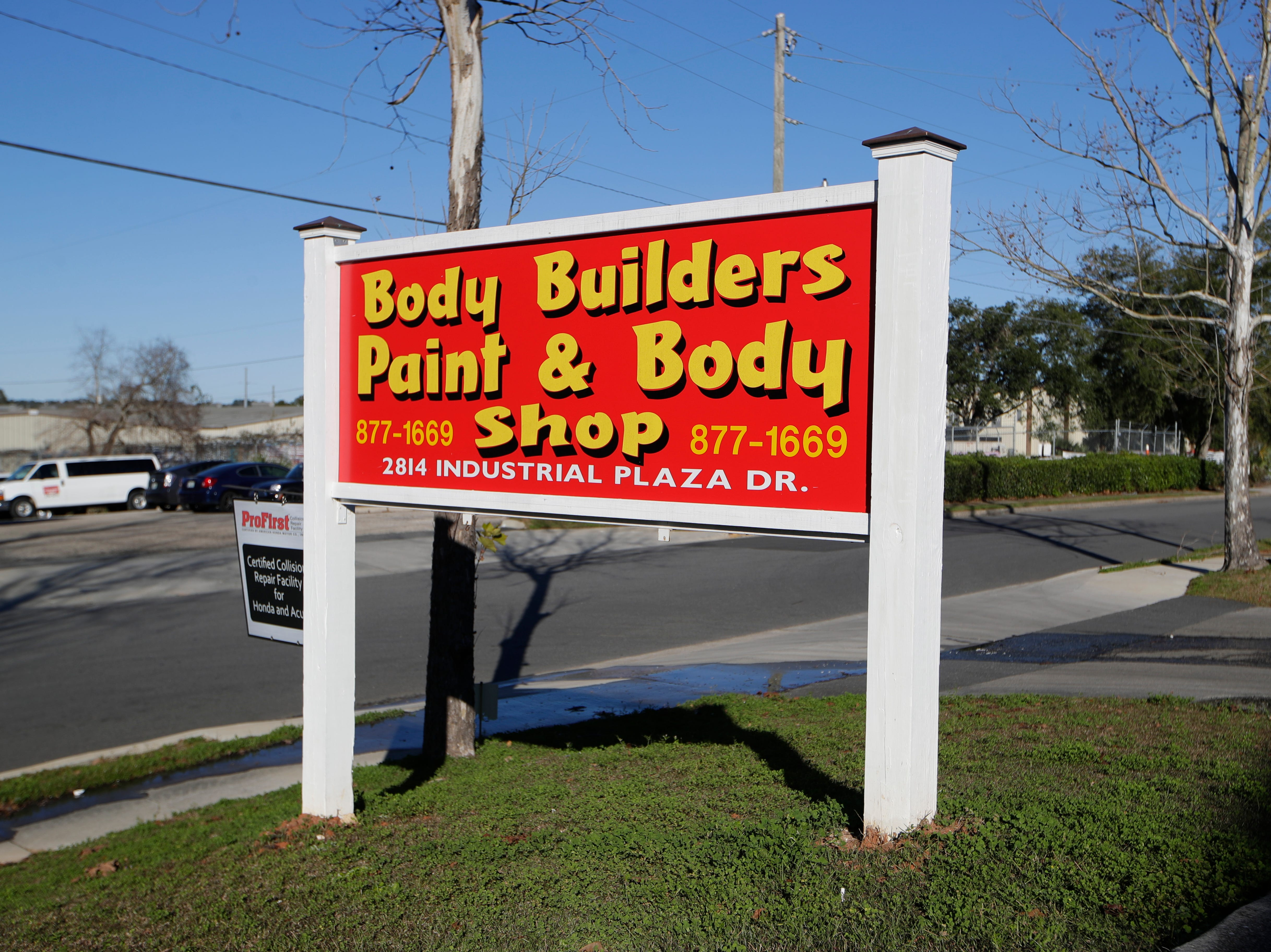 Body Builders Paint and Body Shop and other auto repair businesses in Tallahassee are facing backlogs of work after Hurricane Michael in October.