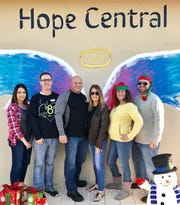 Elev8Hope's Community Christmas Toy Giveaway was made possible thanks to the efforts of board member Jaclyn Uhl, left, Secretary Dr. Brian Moriarty , Vice President Peter DelToro, CEO Rinamarie Shpiruk, and board members Deborah Ponte and Peter Sicoli.