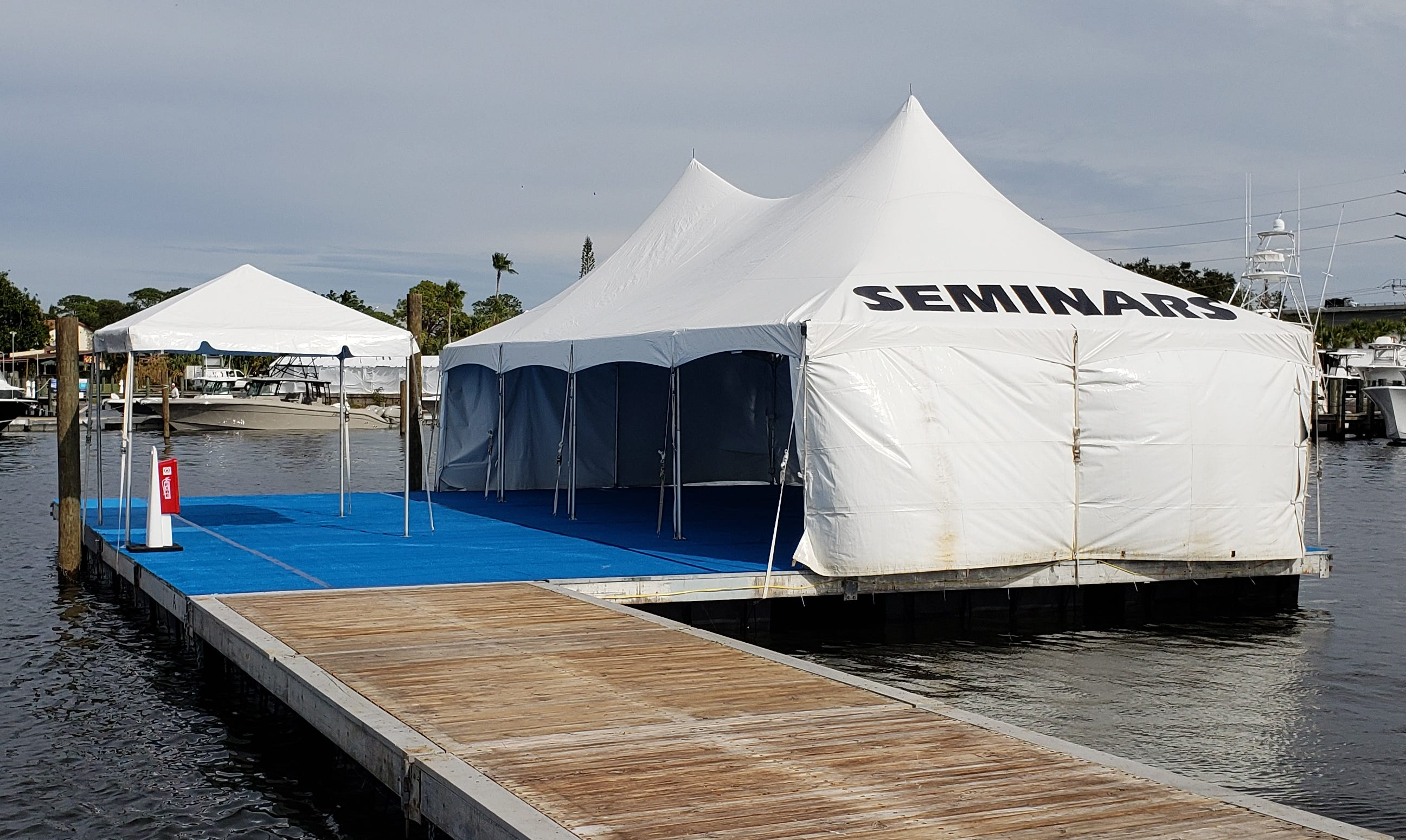 The METCo seminar stage on A Dock at the Stuart Boat Show will showcase a range of informative and educational topics.
