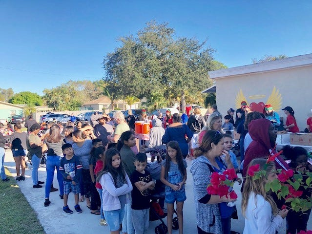 Elev8Hope helped over 1,000 children have a Merry Christmas in 2018 by matching 600 Martin County families with specific donors for customized Christmas lists. The Community Christmas Toy Giveaway on Dec. 22 at Hope Central also blessed another 500 families with gifts for their children.