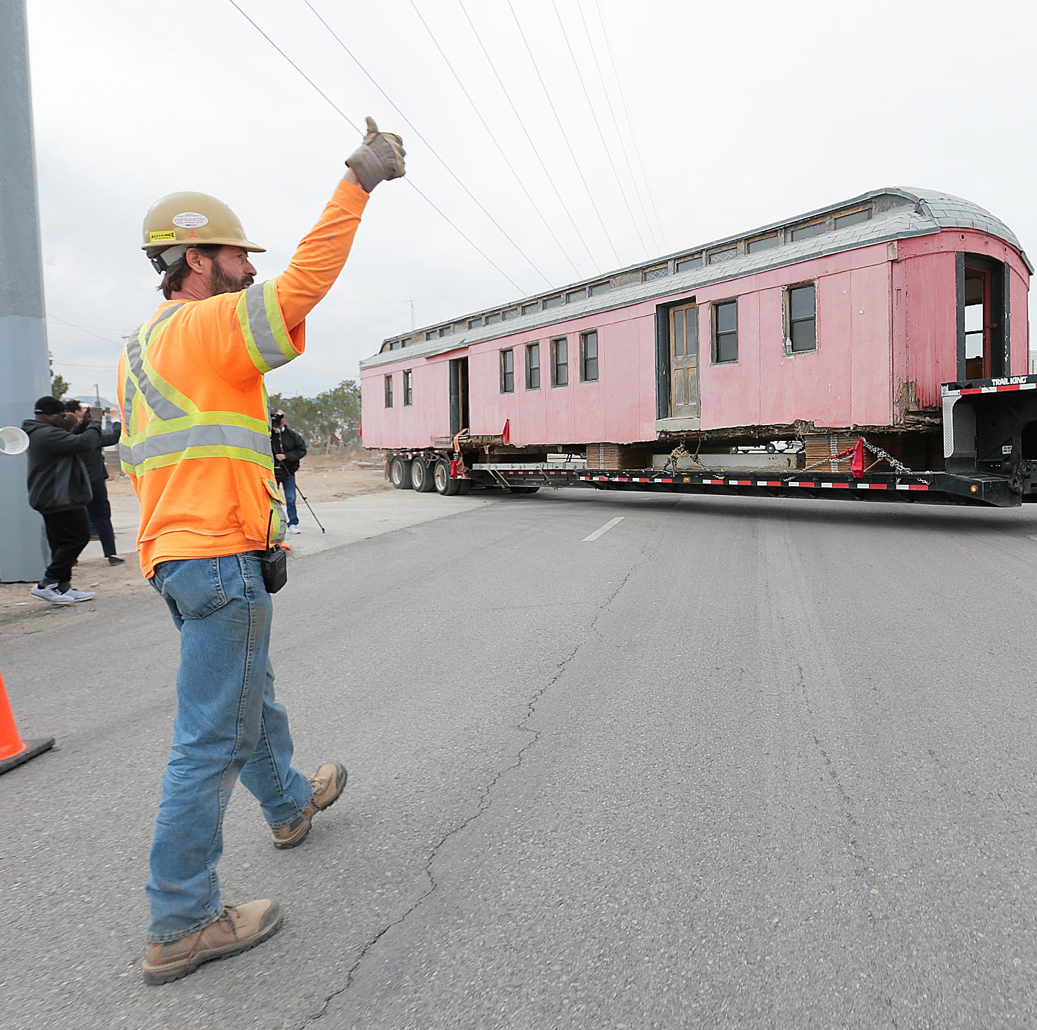 Railroad Museum rescues historic train car being used as home in Central El Paso