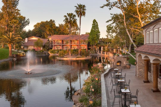 The Westlake Village Inn is located in Westlake Village.