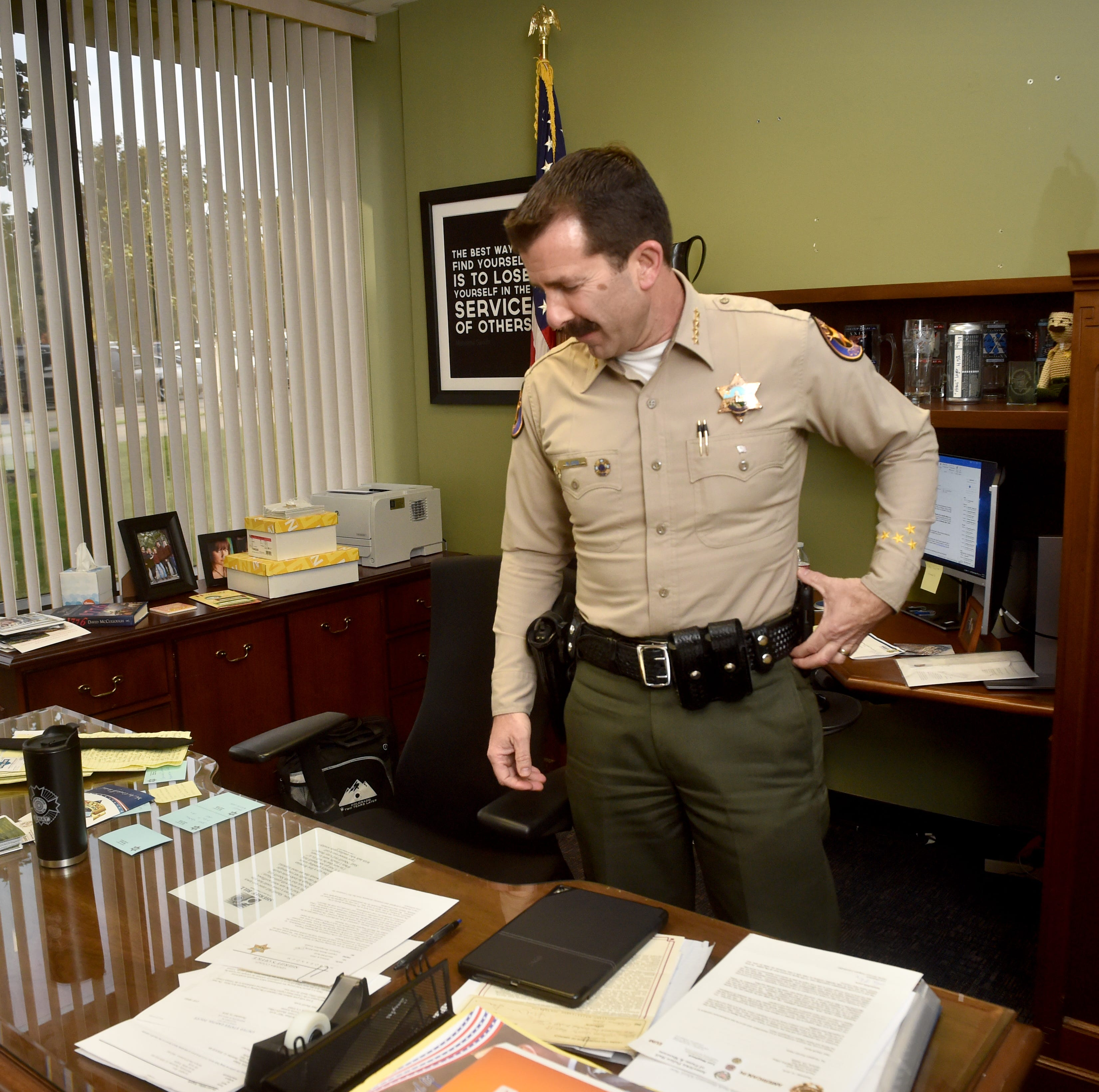 Ventura County Sheriff Bill Ayub to focus on healing agency in tragedies' aftermath
