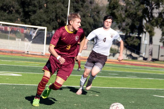 Dylan Studer and the Simi Valley boys soccer team could be playing for a Division 3 crown.