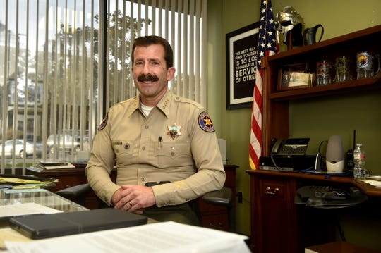 Sheriff Bill Ayub speaks with the Star on Tuesday about the intense start of his first term and goals for the office moving forward.