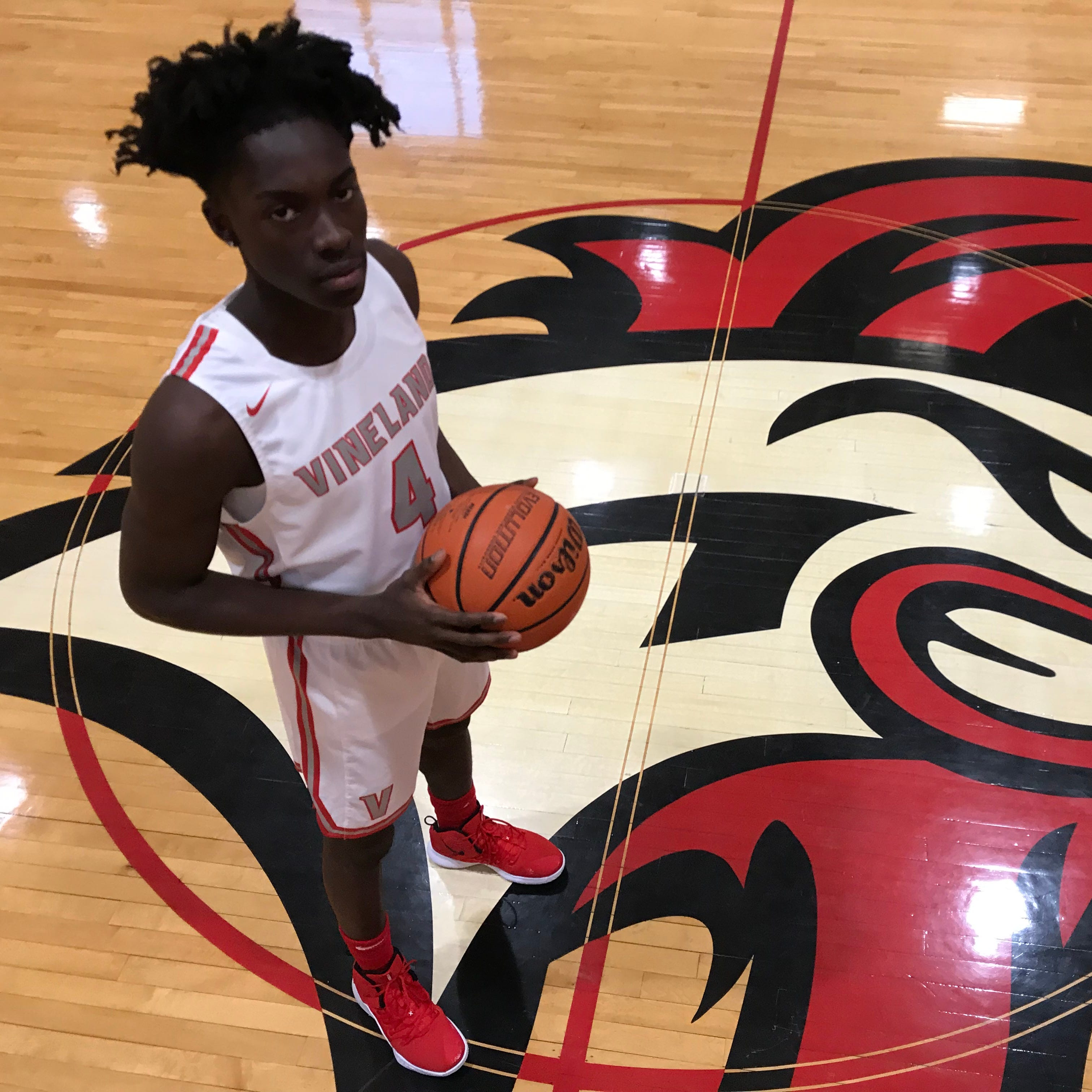 South Jersey basketball: Vineland's DJ Campbell close to joining 1,000-point club
