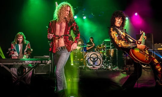 Led Zepagain, a Led Zepplin tribute band, performs on Jan. 26 at the Visalia Fox Theatre.