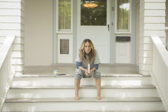 Sarah Jessica Parker in a scene from HBO's 'Divorce.'