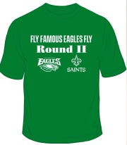 The first 100 customers at all Famous Taverns and Rockford Tavern in Wilmington will receive a free Eagles t-shirt.