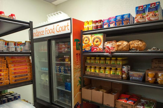The Mustangs Pantry, an emergency food pantry, opened in 2018 at MSU Texas. A new program through the Canan Food Security Scholarship will allow qualifying students to get one meal each day on campus.