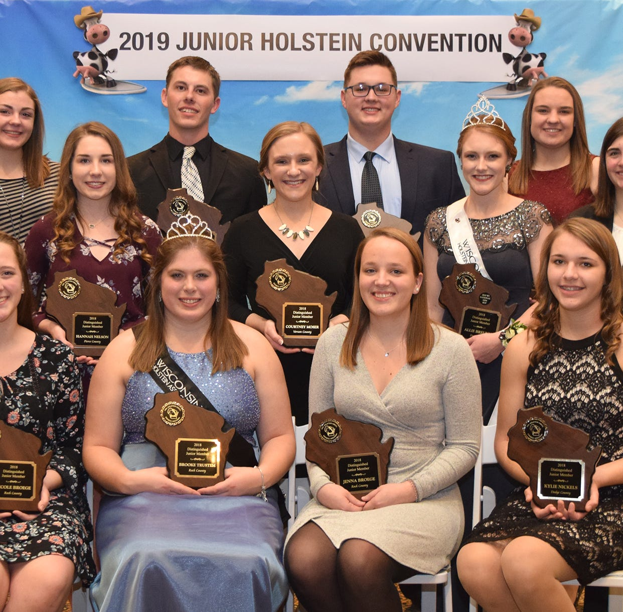 Wisconsin Holstein Juniors set sail at the 2019 Junior Holstein Convention