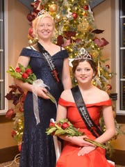 The 2019 Wisconsin Holstein Princess and Attendant were also crowned at the banquet on Saturday evening. Lauren Siemers (seated) of Manitowoc County will serve as the WHA Princess, with Mikayla Endres of Richland County joining her as the WHA Princess Attendant.
