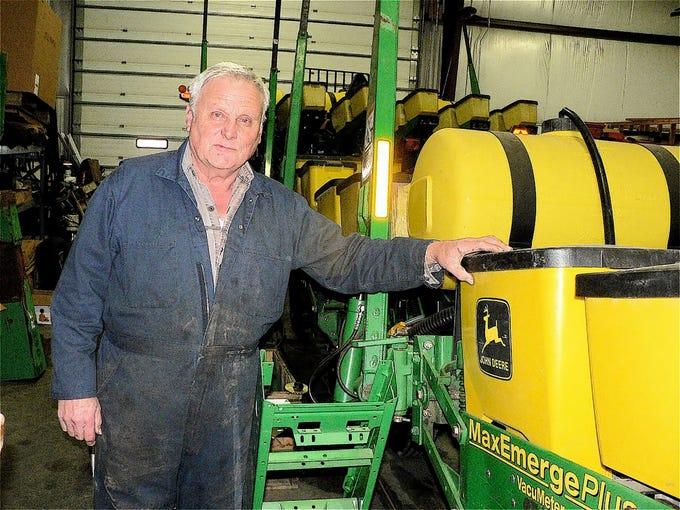 John Friske, John Deer corn planter expert.