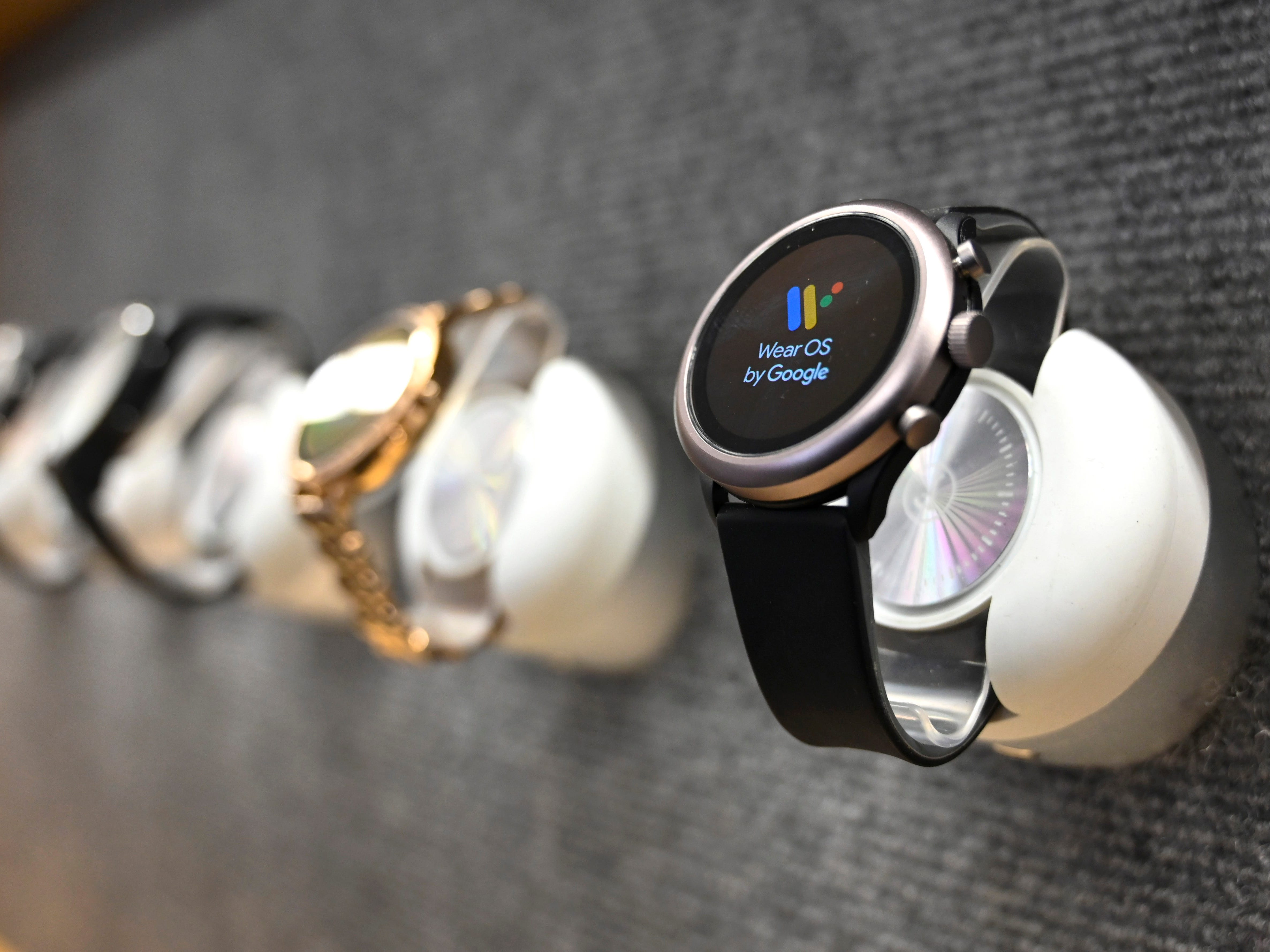 Wear OS by Google smartwatches.